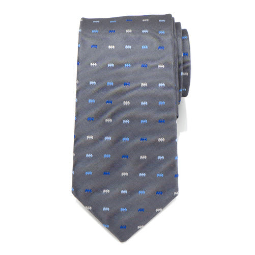 Batman Icon Gray Mens Tie