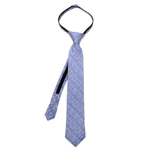 Beauty and the Beast Favorites Grey Boys' Zipper Silk Tie