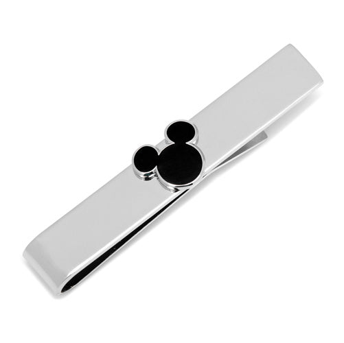 Black Mickey Mouse Silhouette Tie Bar