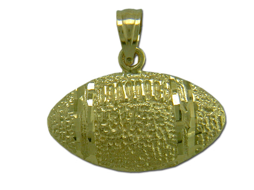 Football 14 kt Gold Pendant
