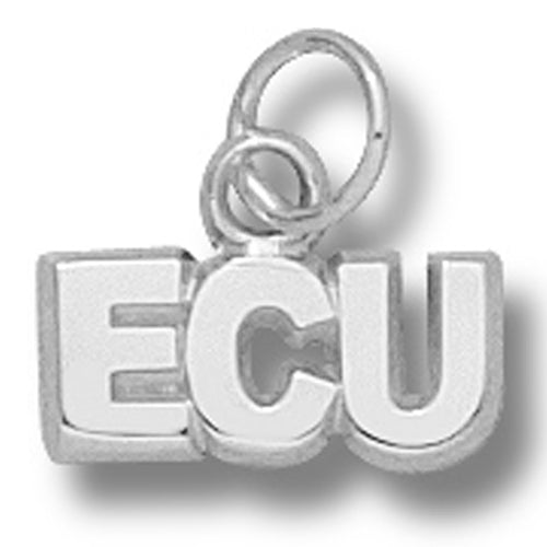 East Carolina University ECU Silver Pendant