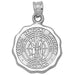 Eastern Kentucky University Seal Silver Pendant