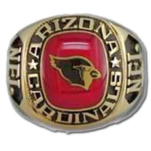 Arizona Cardinals Classic Goldplated Ring