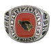 Arizona Cardinals Large Classic Silvertone NFL Ring