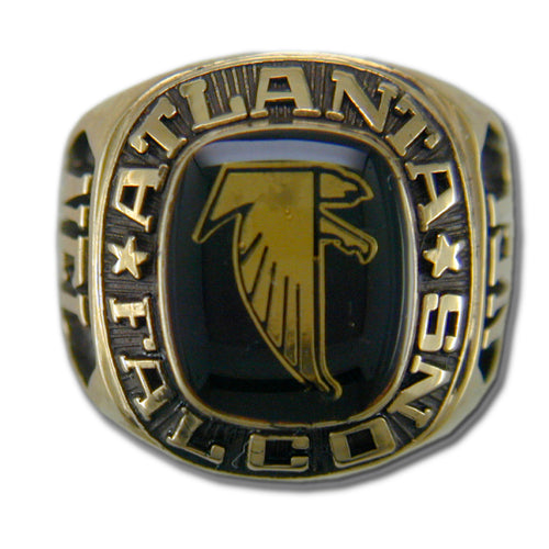 Atlanta Falcons Classic Goldplated NFL Ring