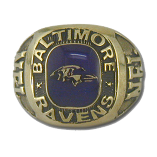 Baltimore Ravens Classic Goldplated Ring