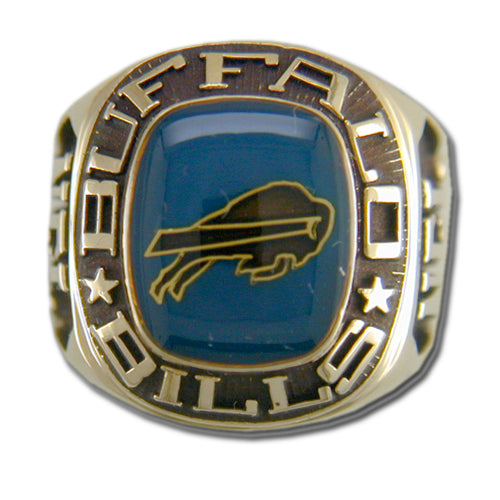 Buffalo Bills Classic Goldplated NFL Ring