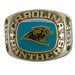 Carolina Panthers Large Classic Goldplated NFL Ring
