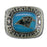 Carolina Panthers Large Classic Silvertone Ring