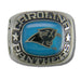 Carolina Panthers Large Classic Silvertone NFL Ring