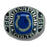 Indianapolis Colts Large Classic Silvertone Ring