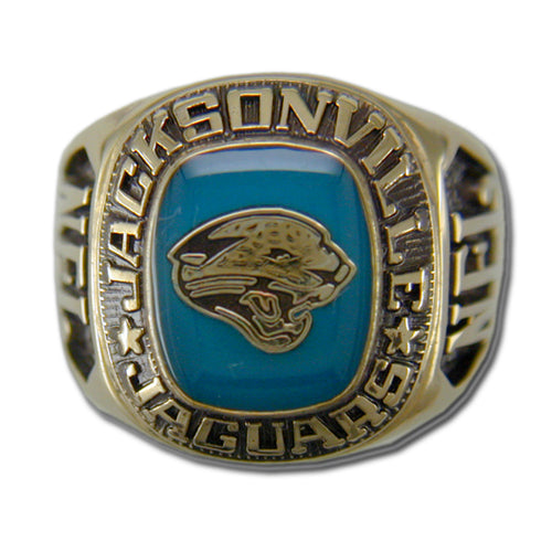 Jacksonville Jaguars Classic Goldplated NFL Ring
