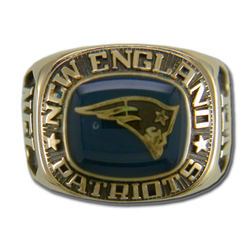 New England Patriots Classic Goldplated Ring