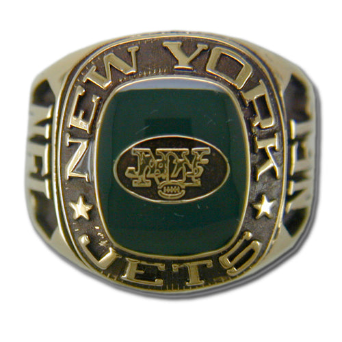 New York Jets Classic Goldplated Ring