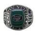 New York Jets Large Classic Silvertone NFL Ring