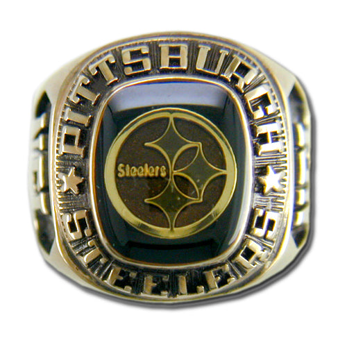 Pittsburgh Steelers Classic Goldplated Ring