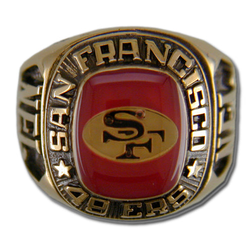 San Francisco 49ers Classic Goldplated Ring