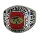 San Francisco 49ers Large Classic Silvertone NFL Ring