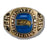 Seattle Seahawks Large Classic Goldplated Ring