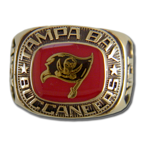 Tampa Bay Buccaneers Classic Goldplated Ring