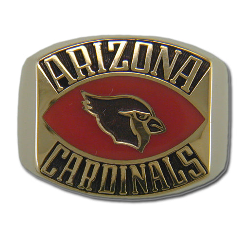 Arizona Cardinals Contemporary Style Goldplated Ring