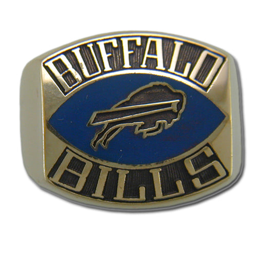Buffalo Bills Contemporary Style Goldplated Ring