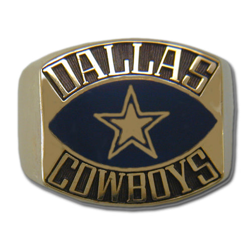 Dallas Cowboys Contemporary Style Goldplated Ring