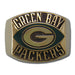 Green Bay Packers Contemporary Style Goldplated NFL Ring