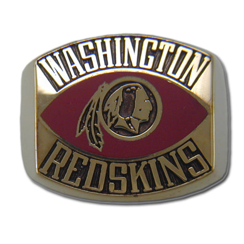 Washington Redskins Contemporary Style Goldplated Ring