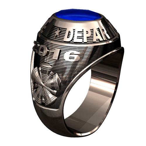 Mens Traditional Firefighter Ring