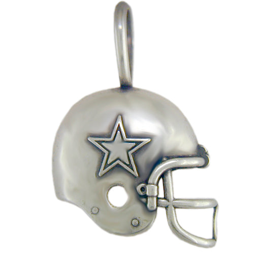 Dallas Cowboys Helmet (Silver)