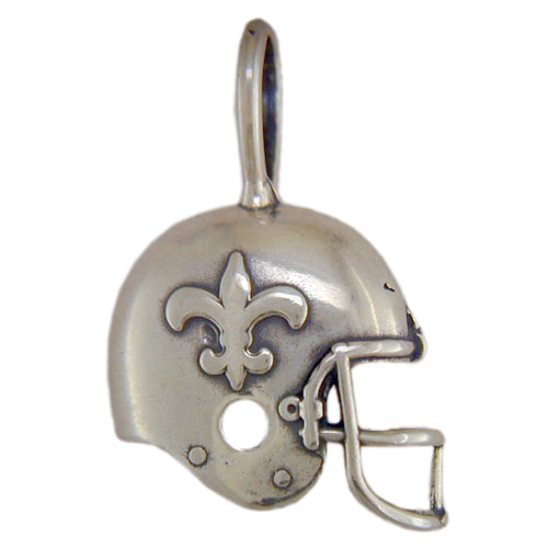 New Orleans Saints Helmet (Silver)