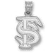 "Florida State University INTERLOCKED ""FS"" Pendant"
