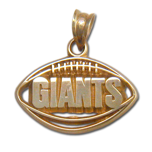 New York Giants Pierced Football