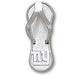 New York Giants Flip Flop