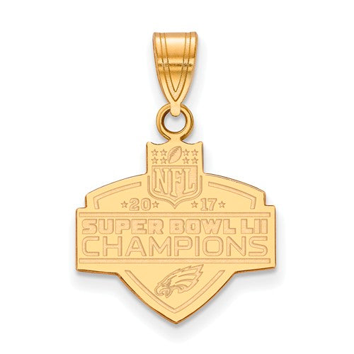 Gold Plated SS Medium Phila Eagles Super Bowl LII Champions