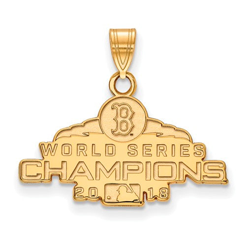 GP 2018 World Series Champions Boston Red Sox Small Pendant