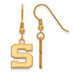 SS GP Swarthmore College Small Dangle Earrings Wire