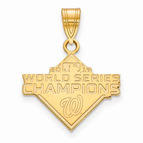 GP 2019 World Series Champions Washington Nationals Medium Pendant
