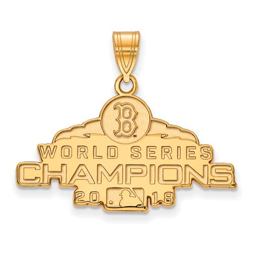 GP 2018 World Series Champions Boston Red Sox Medium Pendant
