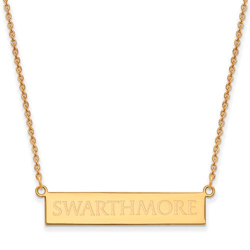SS GP Swarthmore College Small Bar Necklace