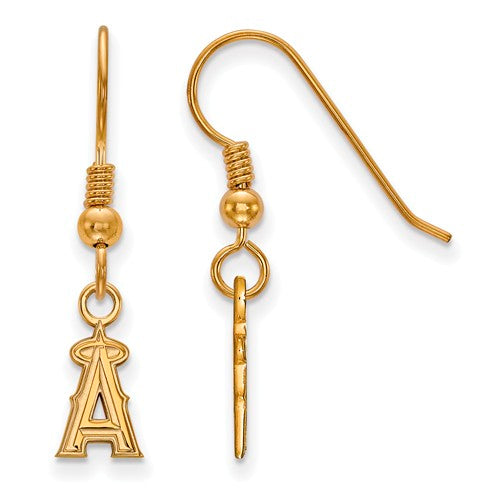 SS w/GP MLB  Los Angeles Angels XS Dangle Earrings