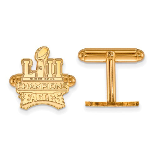 GP SS Phila Eagles Super Bowl LII Champions Trophy Cuff Links