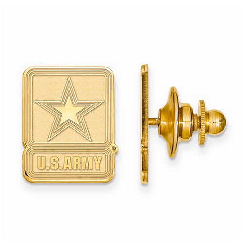 GP Sterling Silver United States Army Lapel Pin