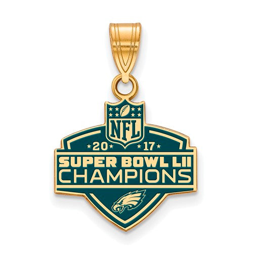 GP SS Phila Eagles Super Bowl LII Champions Medium Enamel