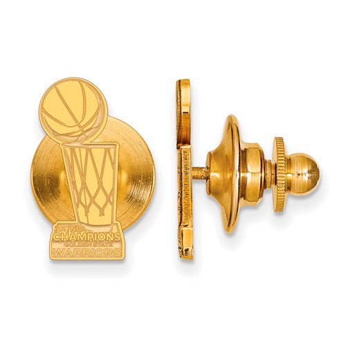 SS GP LogoArt 2017 NBA Championship Warriors Tie Tac