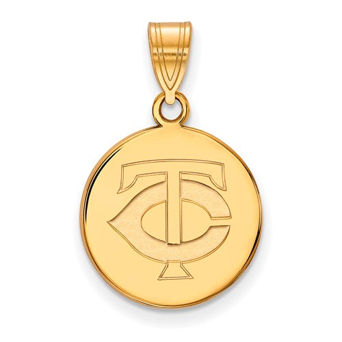 SS w/GP MLB  Minnesota Twins Medium TC Disc Pendant