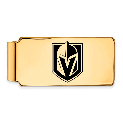 GP Sterling Silver Vegas Golden Knights Money Clip w/epoxy