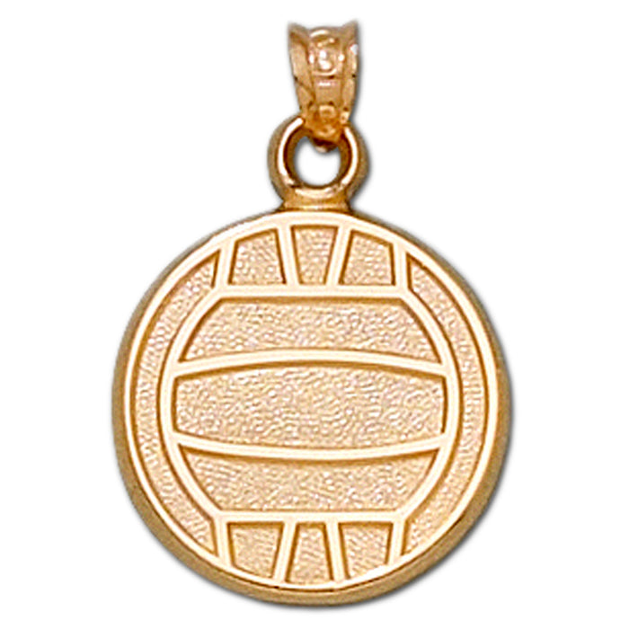 Volleyball 14kt gold Large Style 1 Pendant