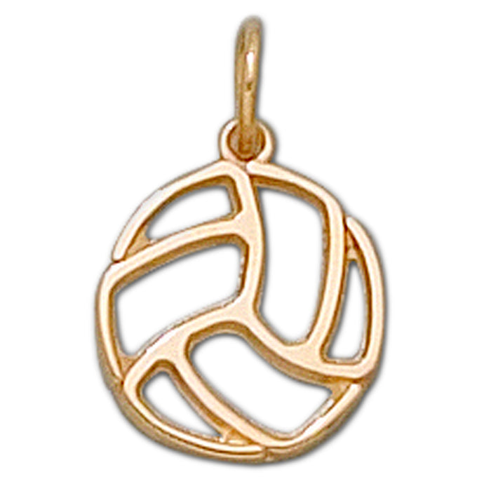 Pierced Volleyball 10 kt gold XS Pendant